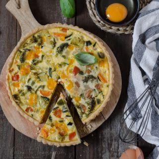 Quiche de verduras, receta casera fácil y…¡deliciosa!