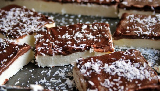 Turrón de coco chocolate