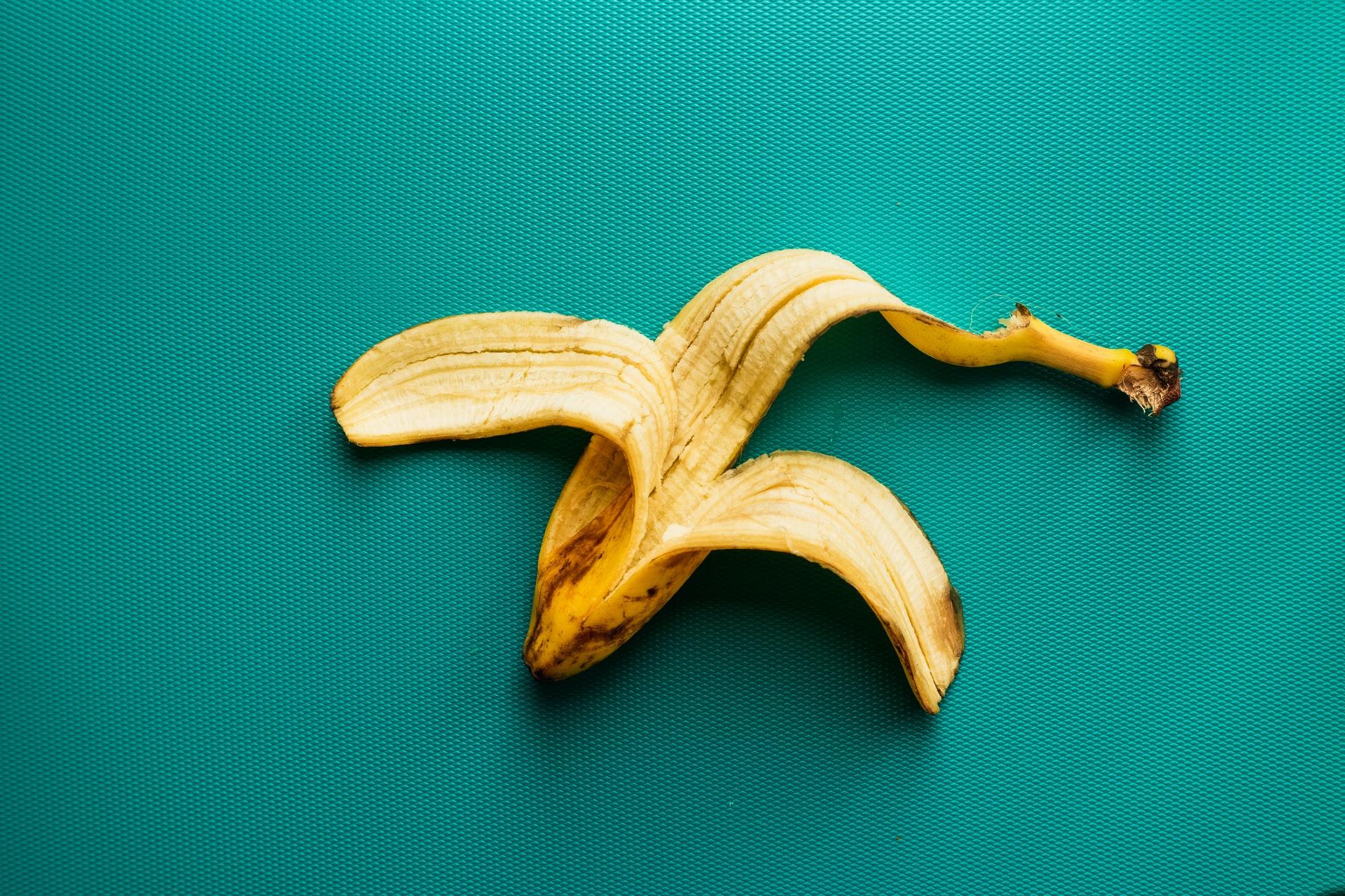cáscaras de plátano recetas