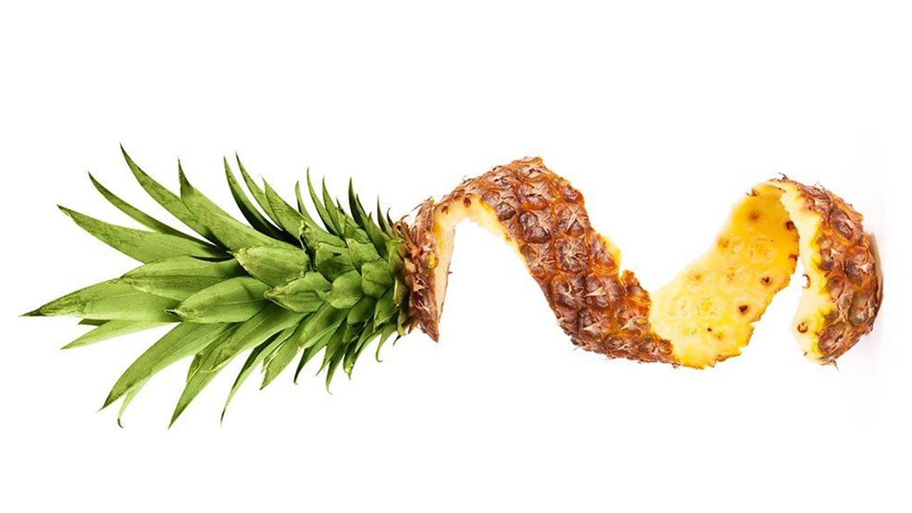 recetas cascaras pina