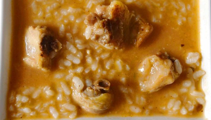 Receta de arroz caldoso con carne - recetas de arroces caldosos - recetas realfooding o real food