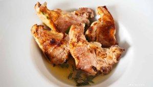receta de chuletas de cordero con salsa de menta - recetas de cordero - recetas realfooding o real food