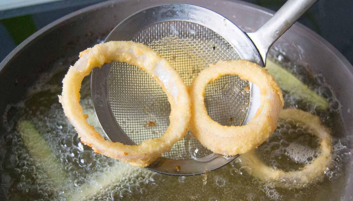 ¿Cómo hacer una buena fritura? La técnica para freír