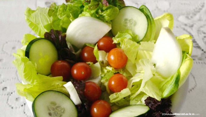 receta de ensalada verde mixta - recetas de ensaladas - recetas realfooding o real food