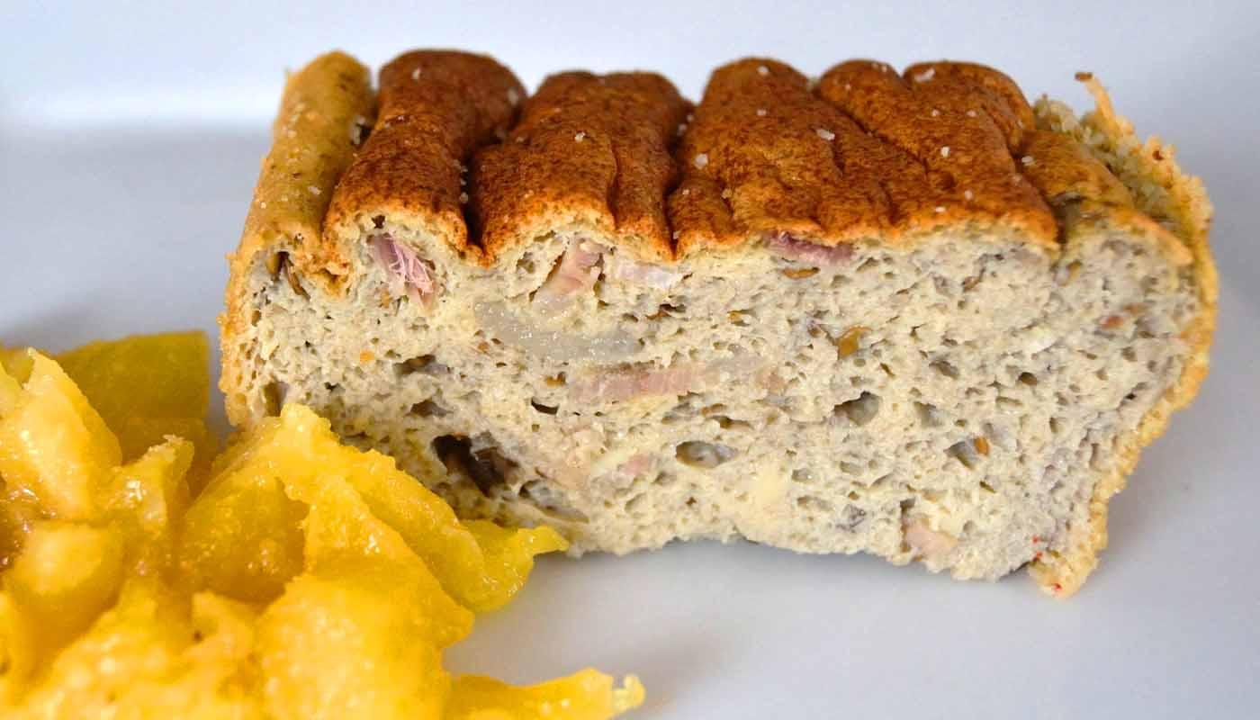 Receta de mousse de berenjenas - recetas de huevos al horno - recetas realfooding o real food
