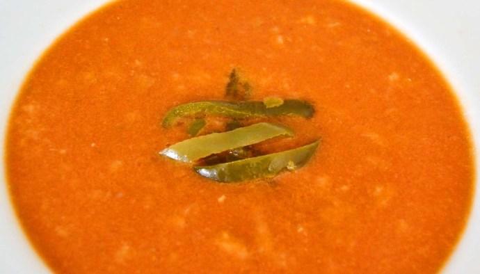 Receta de sopa de tomates - recetas de sopas de verduras - recetas realfooding o real food