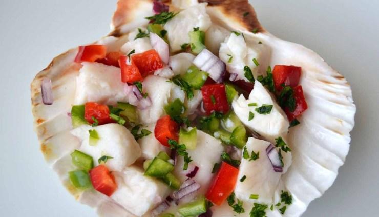 receta de ceviche de merluza - recetas de pescados - recetas frías