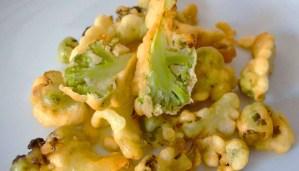 Receta de coliflor verde rebozada - recetas de verduras y hortalizas fritas - recetas realfooding o real food
