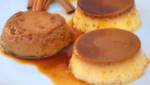 Receta de flan de vainilla y variantes de sabor - recetas de postres y dulces caseros - recetas realfooding o real food