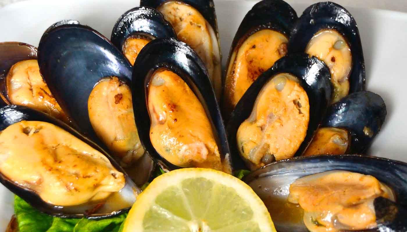 Receta de mejillones al vapor - recetas ligeras - recetas de mariscos - recetas realfooding o real food