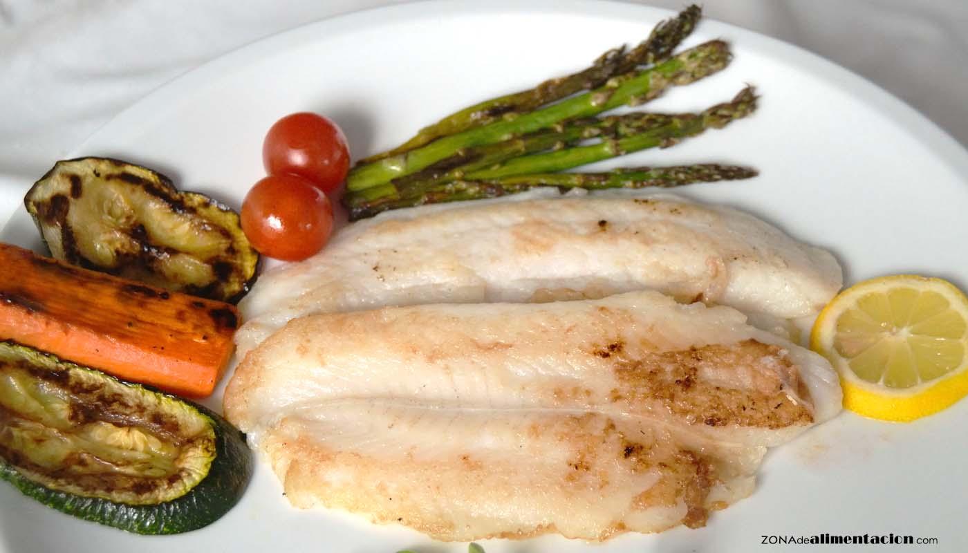REceta de mero a la plancha con verduras - recetas de pescados y mariscos - recetas realfooding o real food