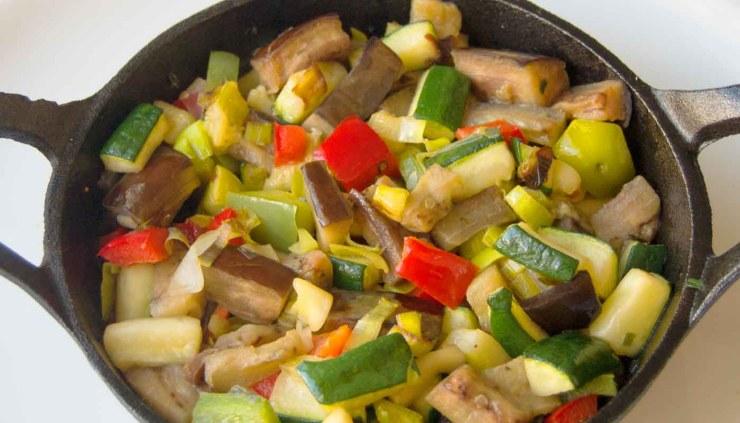 receta de pisto casero - recetas de verduras y hortalizas - recetas realfooding o real food
