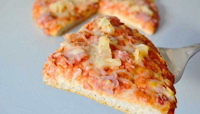Receta de pizza americana (masa gruesa o masa pan) - recetas de pizzas caseras - recetas realfooding o real food