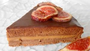 Receta de tarta de chocolate y crema de avellanas - recetas de chocolate - recetas de tartas y pasteles - recetas de postres y dulces - recetas realfooding o real food