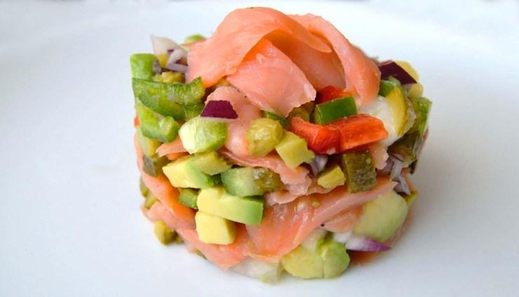 receta de tartar de slamon - recetas con salmon - recetas de pescado y mariscos - recetas real food o real fooding