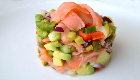receta de tartar de salmon - recetas con salmon - recetas de pescado y mariscos - recetas real food o real fooding