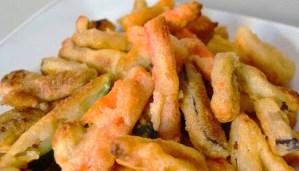 Receta de verduras en tempura - recetas de verduras y hortalizas - recetas realfooding o real food