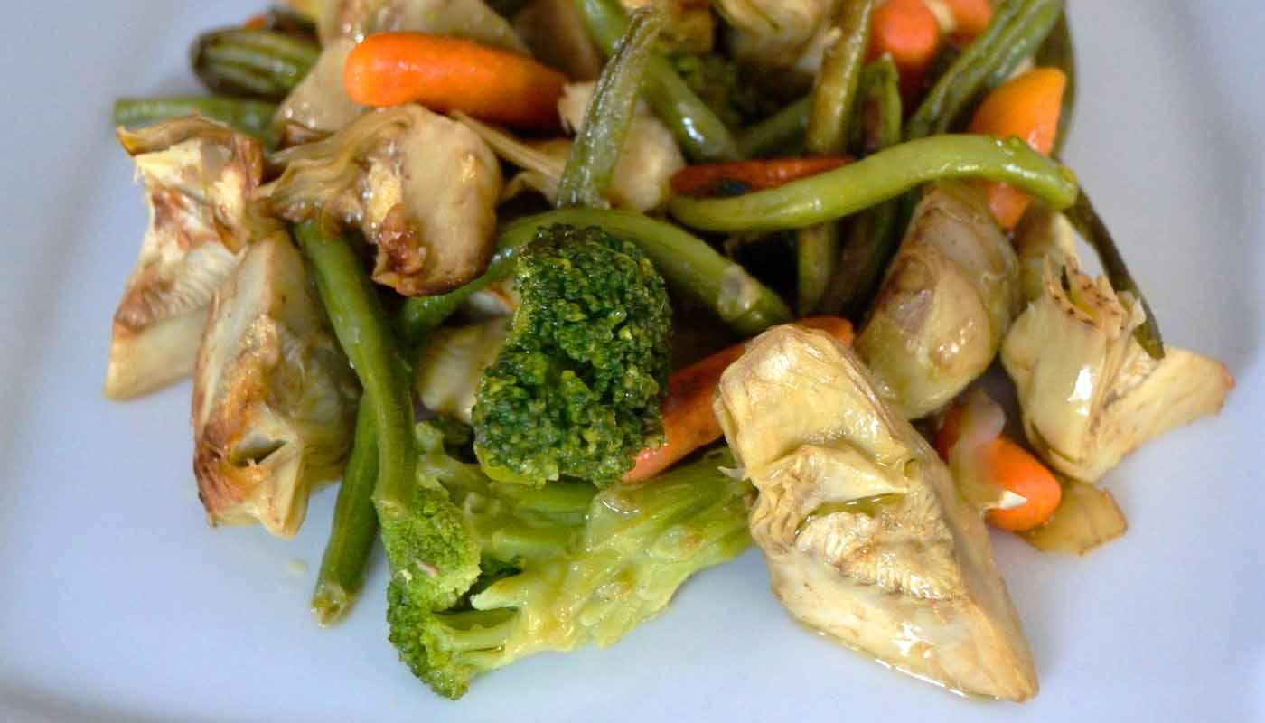 Receta de wok de verduras salteadas - recetas de verduras fritas o salteadas - recetas realfooding o real food