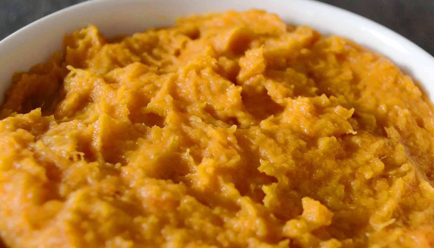 Receta de puré de boniatos - recetas de purés - recetas realfooding o real food