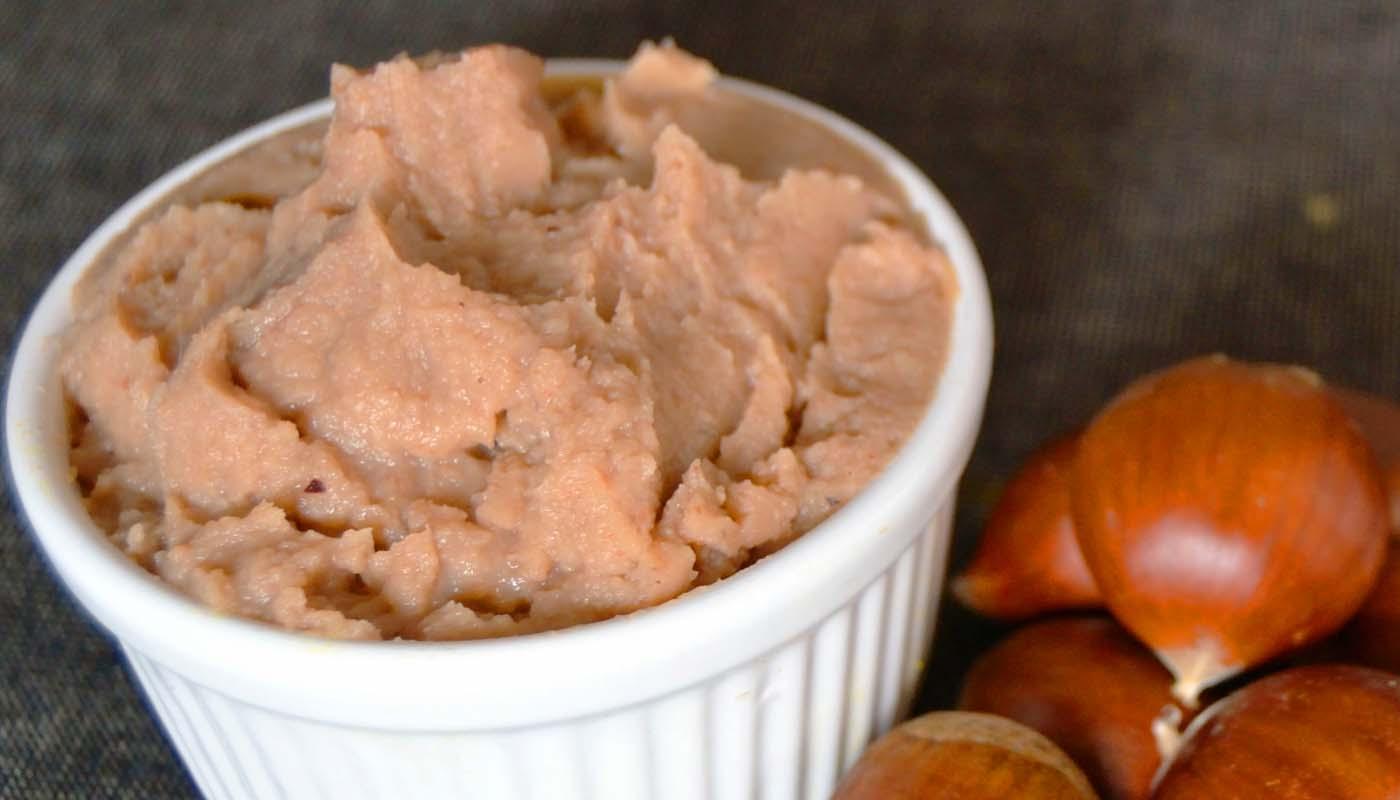 receta de puré de casttañas - recetas de purés - recetas realfooding o real food