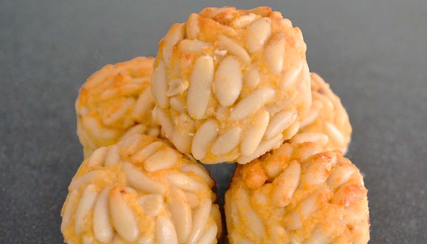 Receta de panellets o panecillos de Todos los Santos - recetas de dulces - recetas realfooding o real food