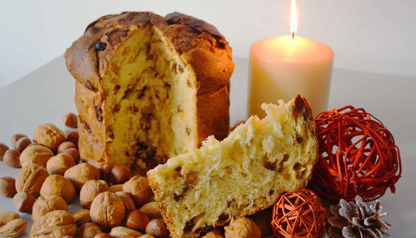 receta de panettone casero - recetas de postres y dulces de Navidad - recetas realfooding o real food