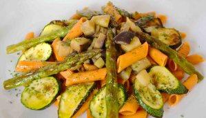Receta de pasta de tomate con verduras - recetas de pasta con verduras - recetas realfooding o real food