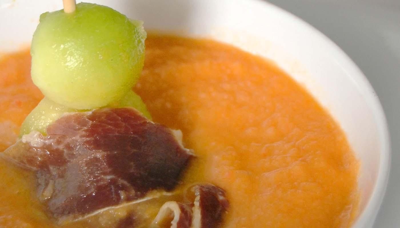 Receta de salmorejo cordobés - recetas de sopas y cremas frías - recetas realfooding o real food