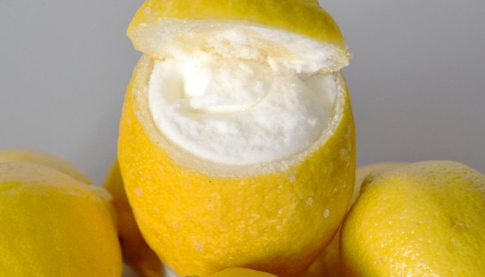 Receta de sorbete de limón casero - recetas de helados caseros - recetas realfooding o real food