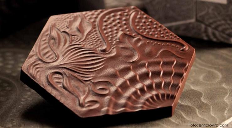 Enric Rovira, el arte del chocolate escultural