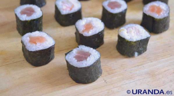Receta de sushi: maki y nigiri - como hacer sushi - recetas real fooding o real food