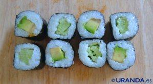 Receta de maki (sushi) vegano - recetas de arroces - recetas vegetarianas y veganas