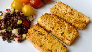 Receta de tofu marinado con salsa de soja y jengibre - recetas con tofu - recetas vegetarianas y veganas