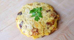 Receta de tortilla de patatas vegana - recetas veganas y vegetarianas