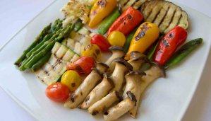 Receta de parrillada de hortalizas a la hierbabuena - recetas de verduras - recetas vegetarianas y veganas
