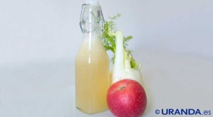 Receta de zumo de manzana e hinojo - recetas de zumos, batidos y smoothies - recetas vegetarianas y veganas