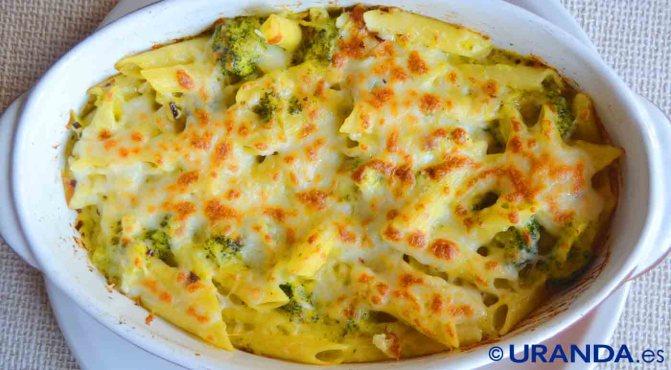 Receta de macarrones con queso o mac and cheese o mc & cheese - recetas de pasta - recetas con queso - recetas realfooding o real food