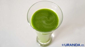 Receta de zumo verde de espinacas y apio - recetas de zumos detox - recetas vegetarianas y veganas