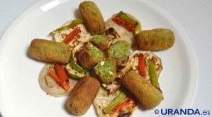 Receta de croquetas veganas de espinacas - recetas vegetarianas y veganas