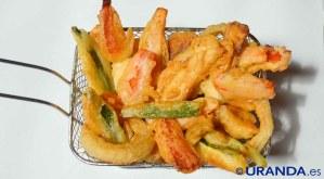 Receta de tempura de verduras vegana - recetas de verduras y hortalizas - recetas realfooding y real food