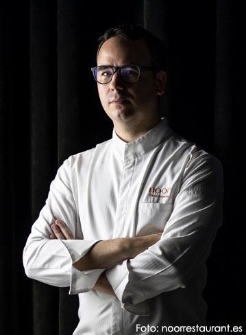 Paco Morales y el restaurante Noor - biografia del chef