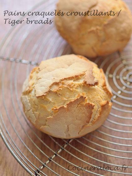tiger breads - pains tigrés ©cocineraloca.fr