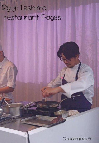 Taste of Paris Ryuji Teshima, restaurant Pages ©cocineraloca.fr