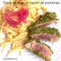 pavé de thon au pesto de pistache ©cocineraloca.fr