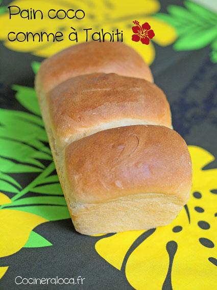Pain coco tahitien ©cocineraloca.fr