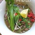 Pho vietnamien servi en bol