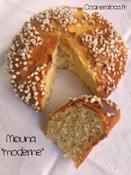 Mouna découpée