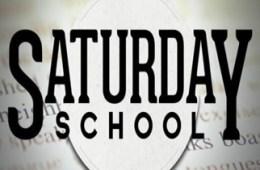 Saturday School New Dates