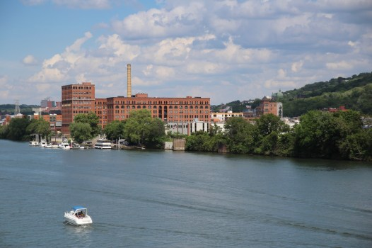 Allegheny river bank