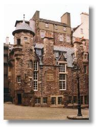 Scotland writers museum in Lady Stair's house